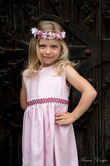 """Detské oblečenie - Detské šaty z kolekcie """"inšpirované Abovom"""" - 11028466_"""