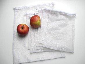Úžitkový textil - Sada Zero waste vrecúšok na ovocie a zeleninu - 11027462_