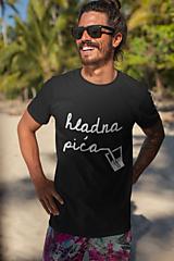 Tričká - Hladna pića (dámske alebo pánske tričko) - 11028378_