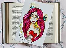 Kresby - Psaníčko - print - 11027668_