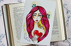 - Psaníčko - print - 11027703_