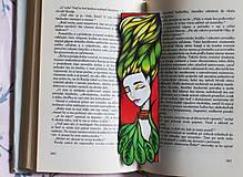 Papiernictvo - Dryáda z lúk a lesov - 11027985_