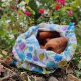Úžitkový textil - Zero waste vrecúško - 11028067_