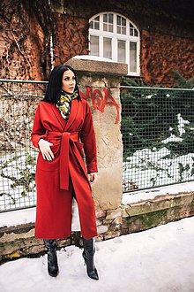 Kabáty - Kabat (S - Červená) - 11027578_