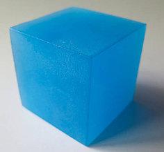 Dekorácie - Svietiaca kocka - 11027223_