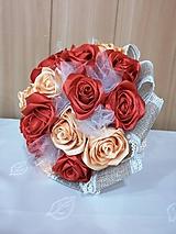 Kytice pre nevestu - Kytica z ruží - 11028591_