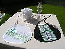 Iné doplnky - Svadobné podbradníky - 11026089_