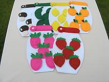 Hračky - Edukačné hračky zelenina - ovocie - 11026631_