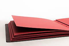 Papiernictvo - Kožená fotokniha Mia - 11026824_