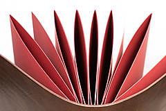 Papiernictvo - Kožená fotokniha Mia - 11026829_