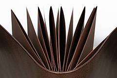 Papiernictvo - Kožená fotokniha Lukas - 11026869_