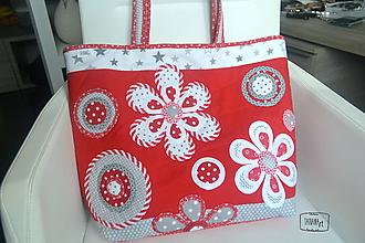 Veľké tašky - Veľká šitá taška (5) - 11031272_
