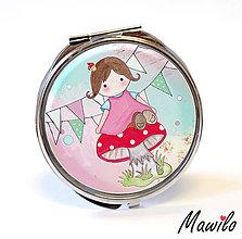 Zrkadielka - Little pink doll - 11030196_
