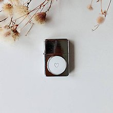 Iné - Zapaľovač minimal srdíčko - 11029235_