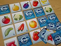 Hračky - pexeso ovocie/zelenina s krabičkou - 11030331_