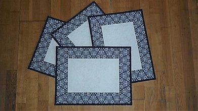 Úžitkový textil - Prestieranie modrotlačové - 11031344_