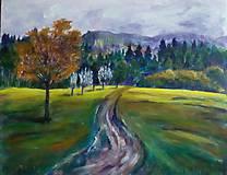 Obrazy - Kľukatý chodníček - 11029185_