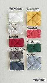 Textil - VLNIENKA výroba na mieru ELEGANT 100% merino top super wash a 100 % bavlna - 11030173_