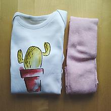 Detské súpravy - Kaktuskové body - doružova - 11031061_