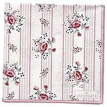 Papier - Servítka G-69- Fiona Pale Pink - malé - 11032050_