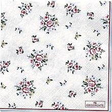 Papier - Servítka  G 108 -Nicoline White - 11032073_