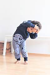 """Detské oblečenie - Softshellka """"pán jazvec"""" posledný kus, v. 110-116 - 11030504_"""