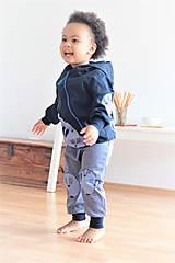 """Detské oblečenie - Softshellka """"pán jazvec"""" posledný kus, v. 110-116 - 11030507_"""