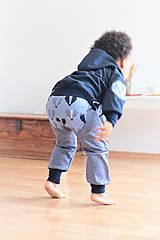 """Detské oblečenie - Softshellka """"pán jazvec"""" posledný kus, v. 110-116 - 11030508_"""