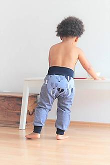 """Detské oblečenie - Softshellky """"pán jazvec"""" - 11030476_"""
