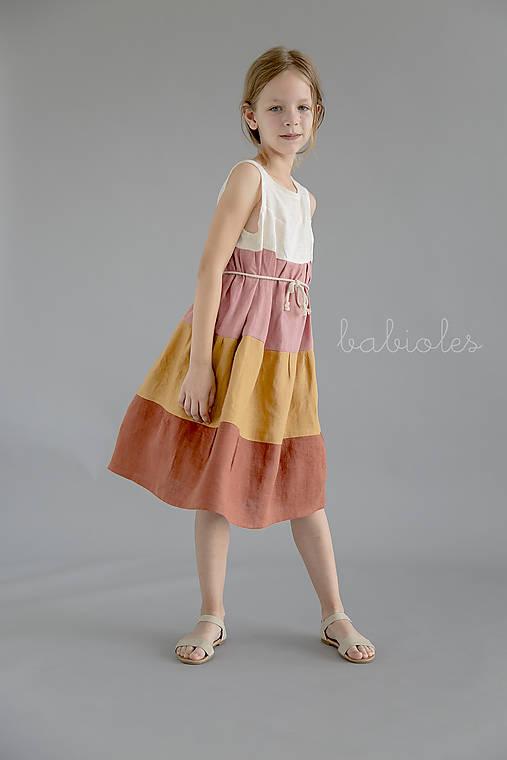 Detské oblečenie - Petite Robe de Lin - 100% ľan - 11029245_