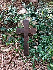 Dekorácie - Kríž -Starý svätec- - 11031448_