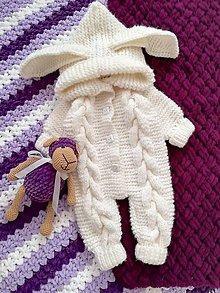 Detské oblečenie - overal pre bábätko - 11029196_