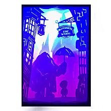 Svietidlá a sviečky - Čarovná Lampa (Čarovná Lampa - Harry Potter) - 11029421_
