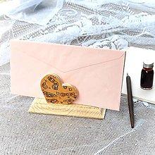Dekorácie - Luxusný stojan na obálky – Klimt - 11029264_