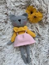 Hračky - mačička - spachtoška LUNA - 11031257_