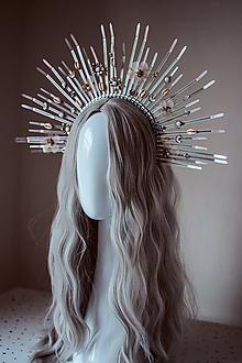 """Ozdoby do vlasov - Strieborná čelenka """"Mermaid Halo crown"""" s mušličkami - 11030539_"""