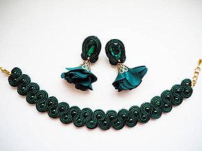 Sady šperkov - Šujtášový set šperkov Milka - 11031744_