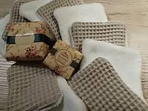 Úžitkový textil - Odličovacie vankúšiky - pampúšiky farba ŠEDÁ - 11030957_