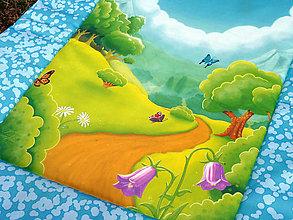 Textil - Dětská deka CESTA - 11029455_