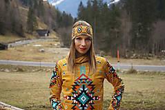 Mikiny - Navajo tribal winter - termo mikina dámska - 11031901_