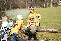 Mikiny - Navajo tribal winter - termo mikina dámska - 11031903_