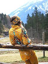 Mikiny - Navajo tribal winter - termo mikina dámska - 11031905_