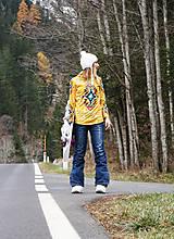 Mikiny - Navajo tribal winter - termo mikina dámska - 11031906_