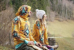 Mikiny - Navajo tribal winter - termo mikina dámska - 11031907_