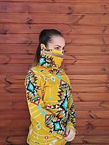 Mikiny - Navajo tribal winter - termo mikina dámska - 11031927_