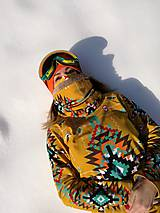 Mikiny - Navajo tribal winter - termo mikina dámska - 11031928_