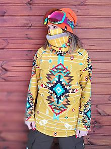 Mikiny - Navajo tribal winter - termo mikina dámska - 11031900_