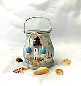 Svietidlá a sviečky - námornícky lampášik - 11029588_