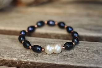Náramky - Náramok riečna perla - 11030264_