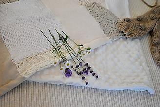 Textil - Štvorcová minky dečka - 11031613_